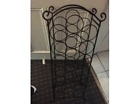 WINE RACK STAND HOLDS 21 bottle