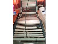 Electric single bed (2 available)