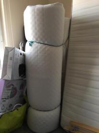 Ikea malfors mattress double bed size.
