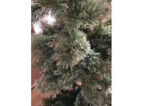 Homebase 6 ft Snow Tip 6 ft Christmas Tree Pre Lit