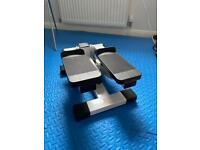 Fitness stepper (mini stepper for home gym)
