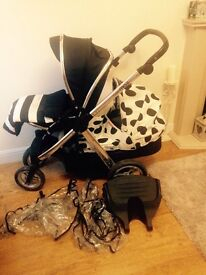 Baby style oyster max double pram