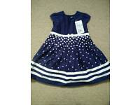 New Jojomamanbebe dress, 18-24m