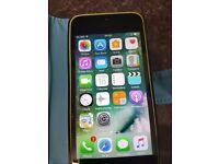 Apple iPhone 5c Smartphone - 8GB - Green locked on EE