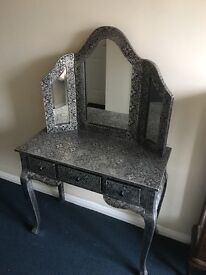 Vintage style French dressing table
