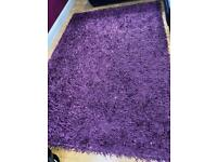 Large Purple Rug