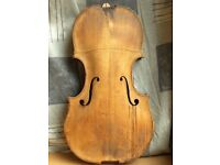 Very old violin for restauration