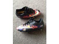 Boys football boots cr7 size 2