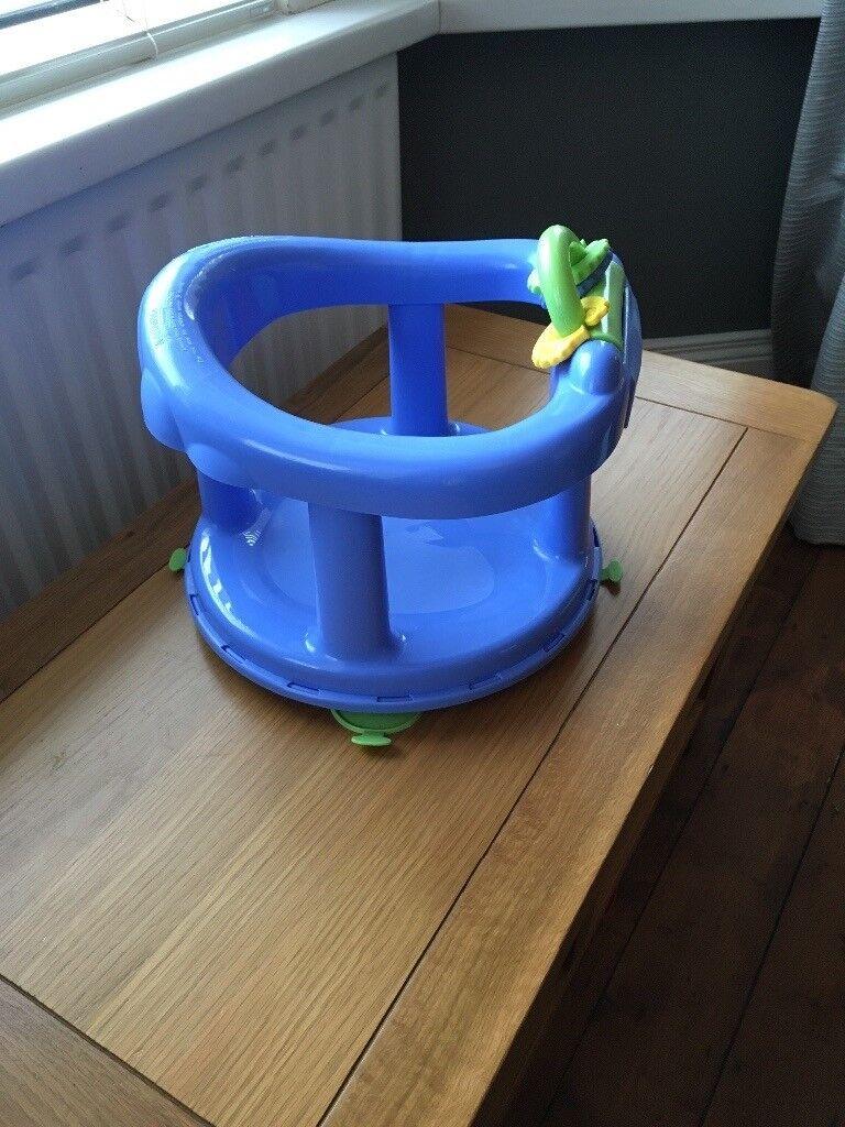 Blue baby bath swivel seat | in Castlereagh, Belfast | Gumtree