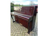 Karl Muller walnut polyester case |Belfast Pianos | Free Delivery || Belfast