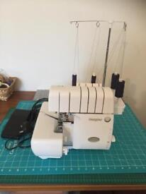 Imagine over locker sewing machine