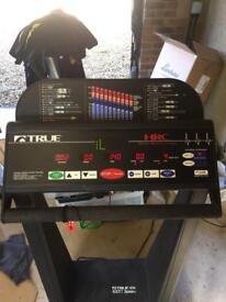 True Soft system 450 Treadmill
