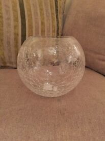 8 x glass vase- wedding centre pieces! Brand new never used!