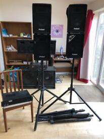 Kam amplifier pro sound speakers amp DJ Disco