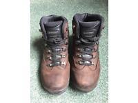 Hi-Tec Men's Hiking Boot+ free brown shoes