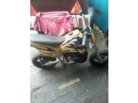 mini motocross bike 50cc