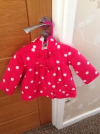 Baby girls winter coat