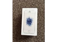 APPLE IPHONE 5 SE 64GB SILVER/WHITE, FACTORY UNLOCKED, IN GOOD CONDITION. BOXED