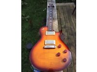 PRS SE 245 *UPGRADES Suhr Thronbuckers, Grover Locking Tuners & 2 Cases *Trade Gibson SG*