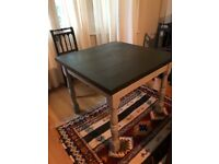Expanding Kitchen Table for Sale, easily converts from 4 to 6!