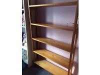Wooden shelves unit. Egham