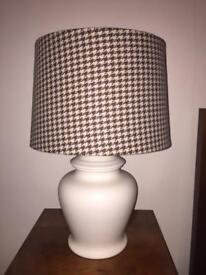 2 x Ceramic Lamps