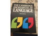 'The Cambridge Encyclopedia of Language' by David Cristal