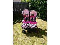 Cosatto double buggy / pram / pushchair