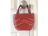 Radley Leather Small Red Handbag