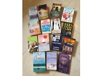 Large selection of adult reading books