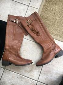 River Island Real Leather Boots