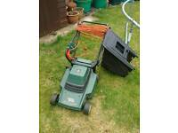 Small black and Decker Electric Lawn mower
