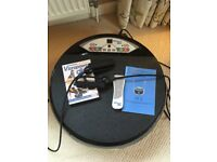 Vibrapower disc machine with weights and instruction dvd hardly used - collection only