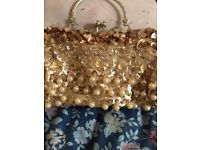 Sequin small hand bag for paries . For girls!