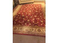 Persian inspired rug