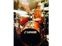 Sonor Designer Series Drum kit