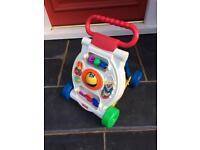 Fisher Price activity baby walker