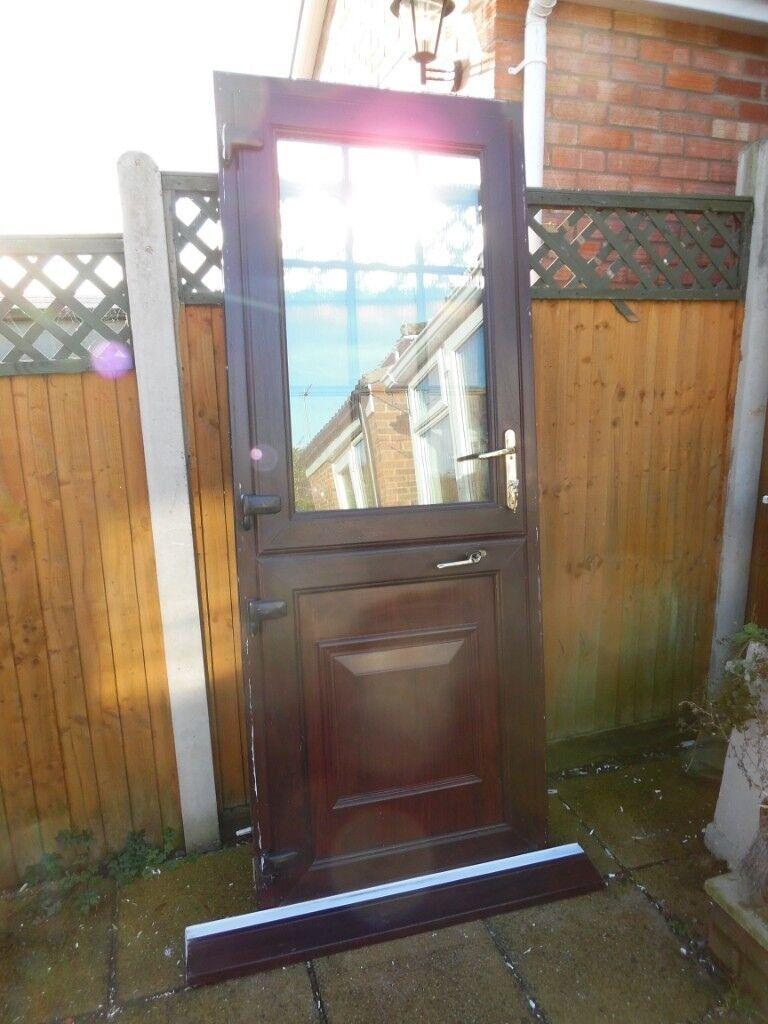 Rosewood Upvc Double Glazed Stable Door In Norwich