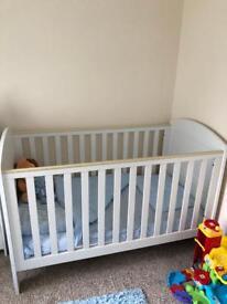 3 piece mamas and papas nursery furniture