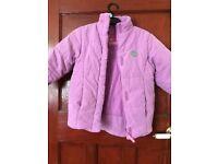 pink Adam's coat age 6