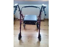 Mobility walking chair