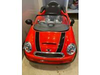Electric ride on Mini Cooper