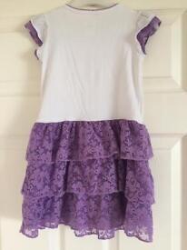 Girls Disney Sofia dress. Size 4. GUC