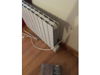 Details about Wall Mounted Oil Filled Electric Radiator Heater For Spairs or Repair X3