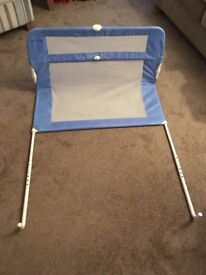 2 blue bed guards (will sell individually or as a pair)
