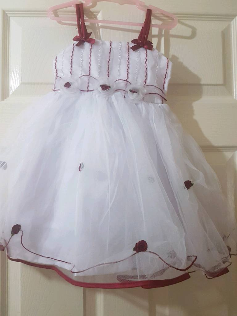 Brand new girls party /bridesmaid dress age 1-2