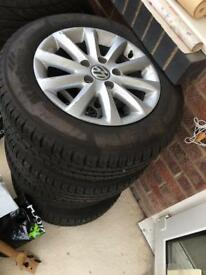 Brand new vw tyres for sale x4