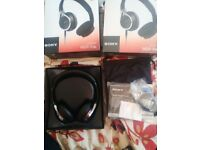 Sony mdr/headphones/new/boxed