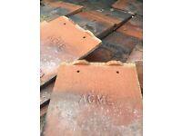 1930's plain clay roof tiles & code 4 lead
