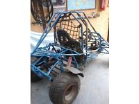 Off road dune buggy project. Just Needs engine